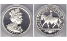 Елизавета II 5 фунтов 2002г