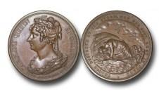 1821г. Смерть королевы Каролины