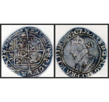 Карл I.  6 пенсов 1626г.