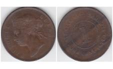 1877г. Малайзия, цент