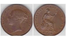 1855 г. пенни