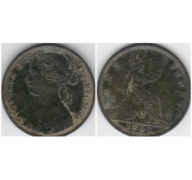 1863г. пенни