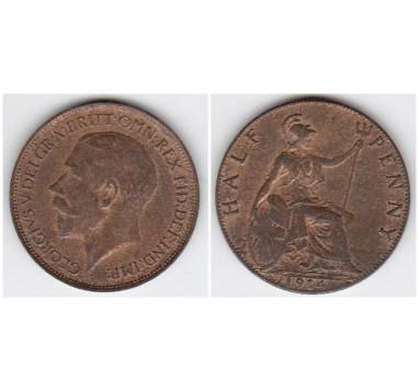 1914г. 1/2 пенни