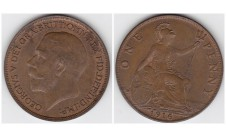 1916г. пенни