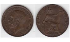 1916г. 1/2 пенни