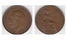 1919г. 1/2 пенни