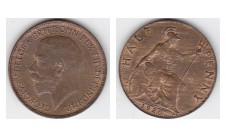 1920г. 1/2 пенни