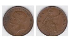 1922г. пенни