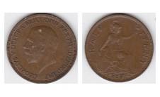 1928г. 1/2 пенни