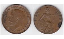 1912г. 1/2 пенни