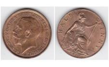 1913г. 1/2 пенни