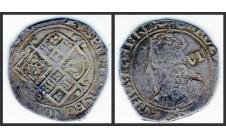 Карл I. 6 пенсов  1640-41г.г