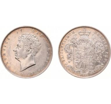 1825г. Георг IV 1/2 кроны