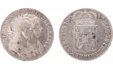 1689г. Вильям & Мария. 1/2 кроны