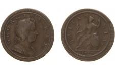 1723г. Георг I, 1/2 пенни