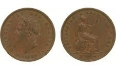 1826г. Георг IV, пенни