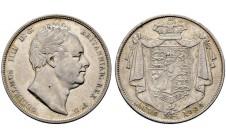 1834г. Вильям IV. 1/2 кроны
