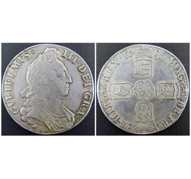 1695г. Вильям III крона