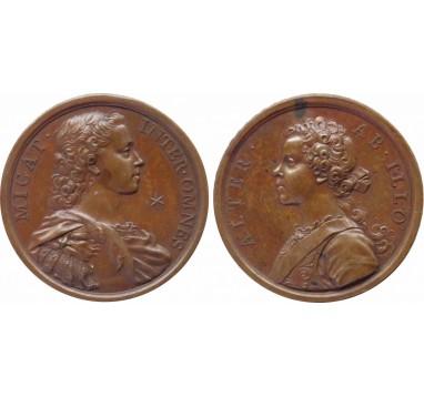1729г. (б/д)  Принц Чарльз и Принц Генри.
