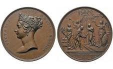 1837г. Королева Виктория: Посещение Лондона