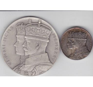 1935 год. 25 лет правления Георга V (официальные медали)