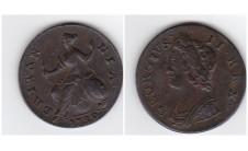 Георг II. Полпенни 1739г.