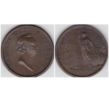 1745г. (1748г.) Принц Карл, молодой Претендент