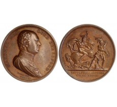 MUDIE's NATIONAL MEDALS 1820
