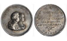 1761г. Германия. Свадьба Короля Георга III и Королевы Шарлотты