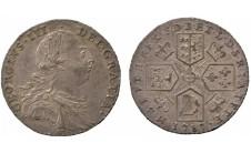 Георг III. Шиллинг 1787г