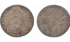 Георг III. Шиллинг 1787г.