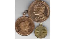 1911-1937г.г. Великобритания. Лот медалей