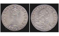 Георг III. Пенни 1795г.