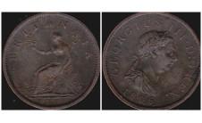 Георг III. Пенни 1806г.