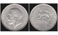Георг V. шиллинг 1923г.