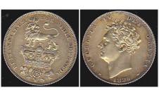 Георг IV. 6 пенсов 1826г