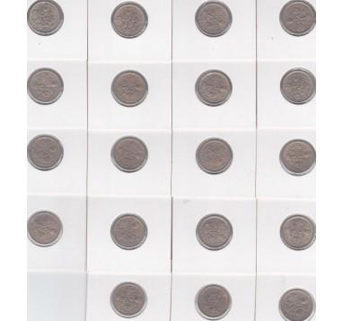 Елизавета II 6 пенсов