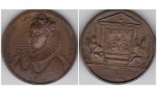 1731г. Короли и Королевы Англии.  Елизавета I 1558-1602