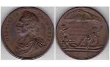 1731г. Короли и Королевы Англии.  Кромвель 1649-1659