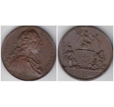 1731г. Короли и Королевы Англии.  Вильям III 1689-1702
