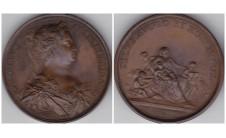 1731г. Короли и Королевы Англии.  Каролина  1727-1760