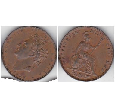 1826г. фартинг