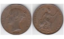 1843г. фартинг