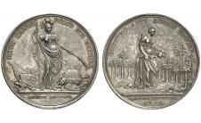 1736 год. Лотерейная медаль.
