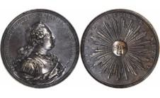 1760г. Георг III. (медаль без даты).