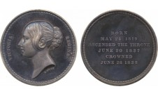 1838г.(1966г.) Коронация Виктории.