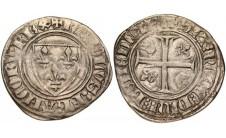 1389г. Франция. Бланк