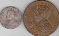 1911 год. Коронация Георга V (официальные медали)